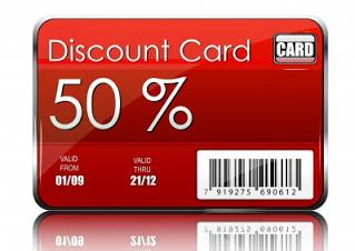 Customer Discount Card